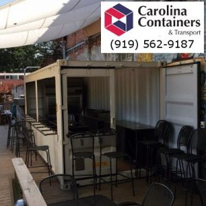 20 foot concession stand container