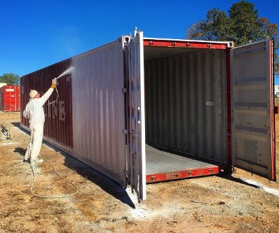 Repair And Paint Storage Containers Raleigh Nc Carolina