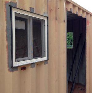 10 foot storage container walk in door_opt1