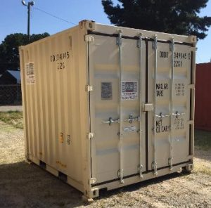 10 foot storage container1