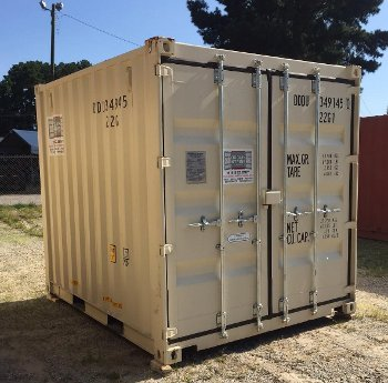 10 Foot Containers with Cargo Doors Carolina Containers