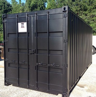 20 foot storage container with cargo doors