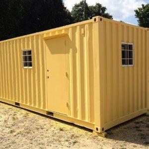 20 foot storage container office with door_opt2
