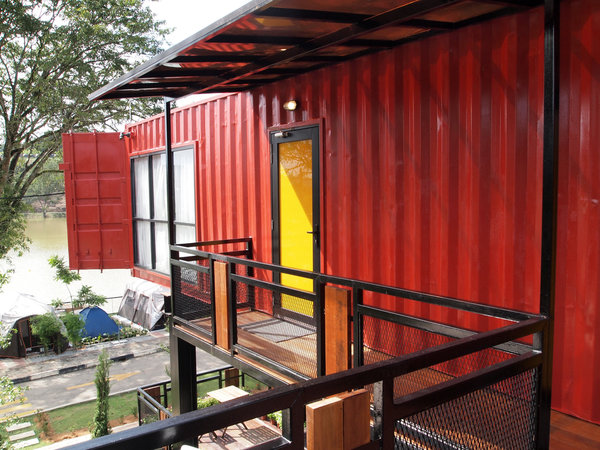 Carolina Containers sustainable building