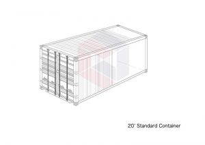 20 Foot Standard Container