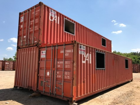 fire training storage container