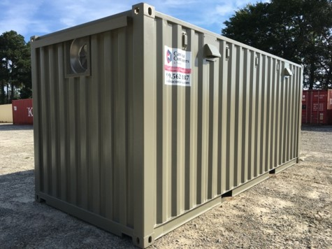 ventilation storage container raleigh nc