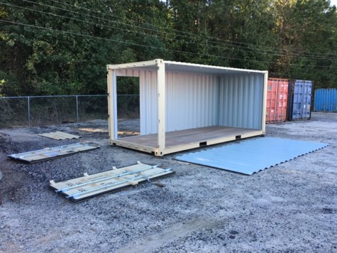 custom steel fabrication storage container raleigh nc