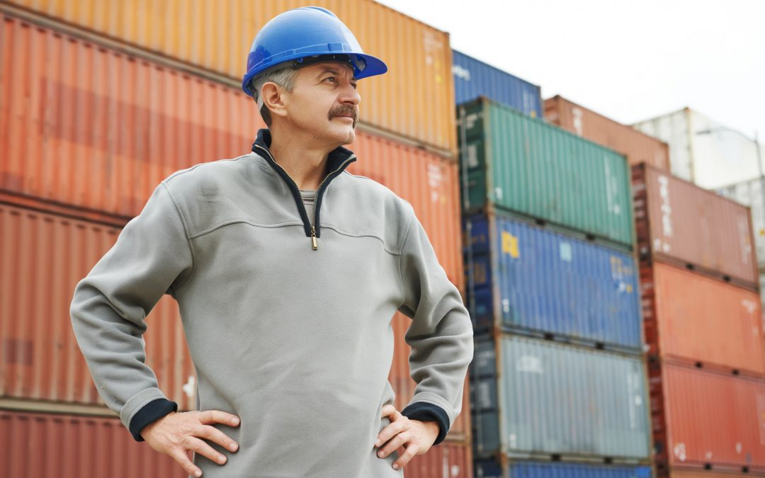 Buying a used shipping container