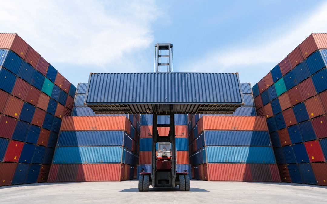 Stacking Shipping Containers - Carolina Containers