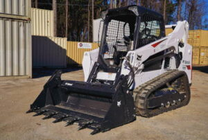 Bobcat T590 - Carolina Containers heavy equipment rentals